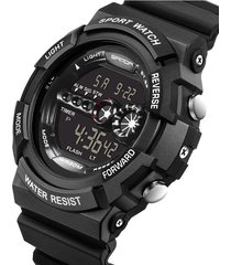 reloj deportivo digital militar sanda 320 hombre negro