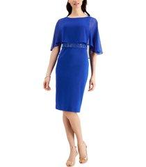 jessica howard overlay sheath dress