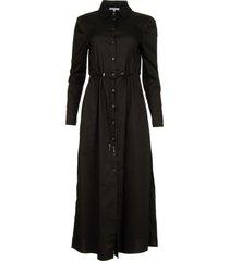 maxi dress abito  zwart