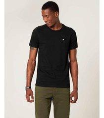 camiseta malwee slim botonê masculina - masculino