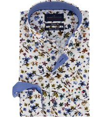 overhemd portofino bloemenprint regular fit