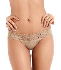 calcinha mondress lingerie sem costura com renda