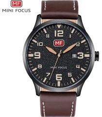 mini focus 0158g ultra delgado reloj de moda reloj de-negro