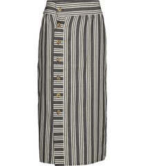 olle skirt knälång kjol multi/mönstrad iben