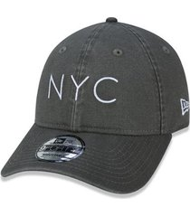 boné new era 940unst washed duck nyc mos ss20 aba curva