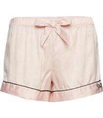 short satin bow shorts rosa hunkemöller