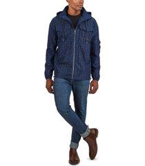men's patch pocket rack jacket