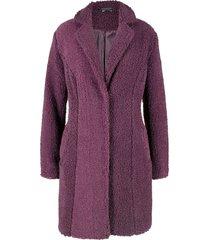 cappotto corto effetto peluche (viola) - bpc bonprix collection
