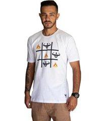 camiseta praia manga curta relaxado masculina - masculino