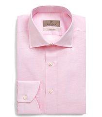 men's canali regular fit geometric dress shirt