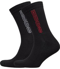 2p qs rib piano cc underwear socks regular socks svart hugo