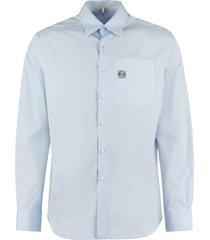 loewe cotton poplin shirt