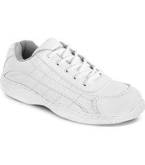 tenis colegial xx pc blanco unisex croydon