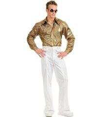 buyseasons men's hologram disco shirt
