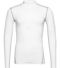 ua cg armour mock underwear t-shirts long-sleeved vit under armour