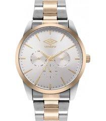 reloj bicolor umbro plus