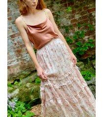liu skirt autumn garden