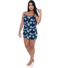 camisola beauty blue feminina - feminino