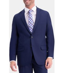 haggar men's active series herringbone classic-fit suit separate jacket