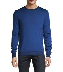 crewneck wool & silk-blend sweater