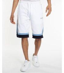 men's stripe taping knit shorts