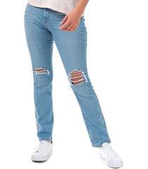 womens 724 high rise straight sapphire lies jeans