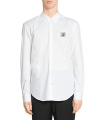 etudes x keith haring patch sport shirt