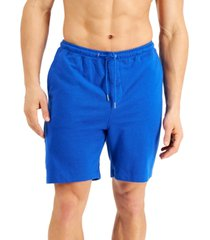 alfani men's moisture-wicking pajama shorts, created for macy's