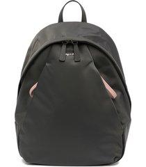 agnès b. classic tonal backpack - grey