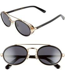 women's jimmy choo tonies 51mm round sunglasses -