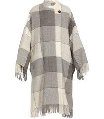 jil sander wool overcoat