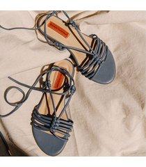 sandalia plana azul serenity para mujer ohio sandalia plana ohio azul serenity-35