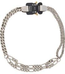 1017 alyx 9sm triple cubix necklace - silver