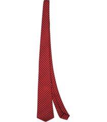 kiton micro-patterned tie