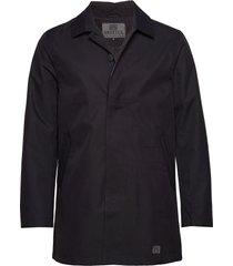 t-coat dunne lange jas zwart brixtol textiles