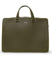 matt & nat david briefcase, olive