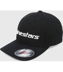 gorra negro alpinestars