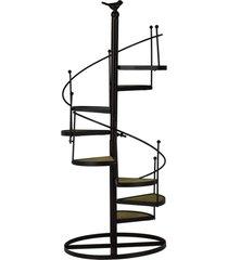 enfeite miniatura escada rounded 55 cm