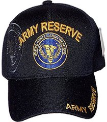 us warriors us army reserve adjustable ball cap large black
