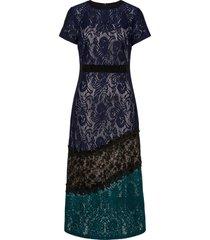 abito in pizzo (blu) - bodyflirt boutique