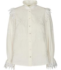 broderie blouse feliciti  wit