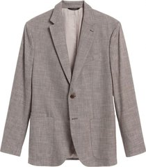 chaqueta slim cotton café banana republic