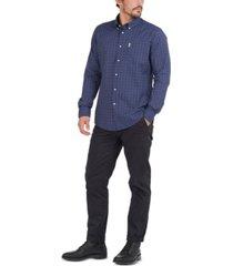 barbour men's batley tattersall performance shirt