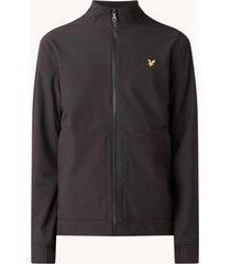 lyle and scott jk1421v lyle en scott funnel neck softshell jacket, z271 dark navy