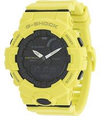g-shock gba 800 step tracker digital watch - yellow