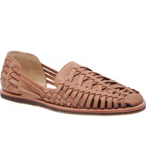 nisolo huarache water resistant sandal, size 11.5 in tobacco at nordstrom