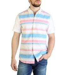 overhemd korte mouw tommy hilfiger - xm0xm00962