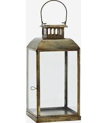 lampion boho stare złoto mosiądz szkło 36cm