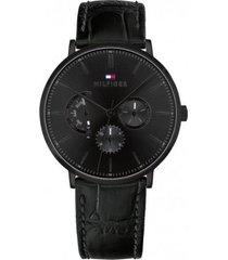 reloj tommy hilfiger 1710378 negro -superbrands