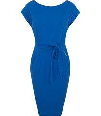 femme fatale jurk kobalt